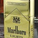 MJL wholesale Five - Face engraving The bar code   lighter brand Genuine copper gold liner  wit