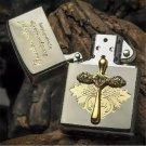 High-quality goods of kerosene machine Pure copper diamond cross individuality creative lighter