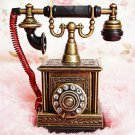 Precious Collections Creative Inflatable Cigarette Lighter Retro Telephone Model Metal Crafts O