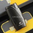 COHIBA Pretty Portable Fire Lighter Refillable Windproof Torch Flame jet Lighter Cigarette Ciga