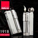 Genuine Austria IMCO brand steel oil lighter.silver kerosene lighter,men's cigarette Gasoli
