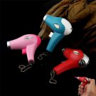 Hair Dryer Shaped Windproof Jet Torch Flame Refillable Butane Gas Cigarette Cigar Lighter BC1568
