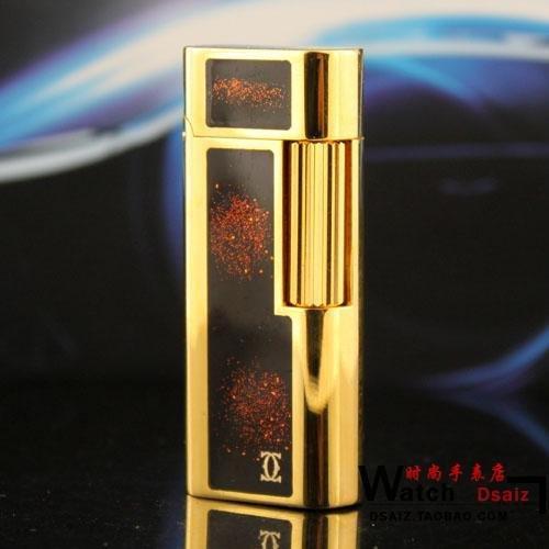 S.T Memorial Catier lighter !  In Box Serial number KD206 BC1592