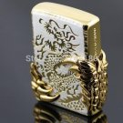 2015 men's lighter dragon lighters OD-17 kerosene lighter Windproof Metal Smoking Fuel Ligh
