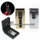 Tiger W/Xmas Gift Box Cigar Cigarette Smoking Windproof Jet Flame Touch Sensor Lighter BC1663