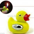Cute Yellow Duck Design Cigarette Lighter Refillable Butane Gas Smoking Cigar Lighter BC1681