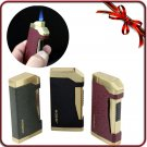 Jobon Matting Colorful Portable Classic Jet Flame Cigar Cigarette Smoking Windproof Lighter BC1712