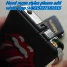 Creative pocket cigarette box lighter fashion smoking cigarettes gas windproof lighter with cig