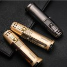 Authentic personality lighter gas inflatable wind creative gifts Outdoor mini portable portable