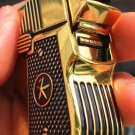 LMT  wholesale  Heavy armor copper kerosene gold color  lighters retro wind domineering guns ol