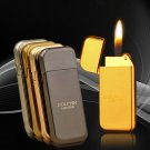 10pcs/lot multiple color butane windproof lighter encendedor flame gas Lighter isqueiro as chri