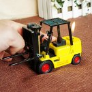Vintage yellow classic forklift model lighter shop bar showcase creative decoration craftwork g