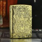lighters Five new pure copper surface engraving justice guardian angel Baker tattoo kerosene B