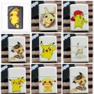 Cartoon smoking kerosene lighter girl go out portable pocket lighter BC2044