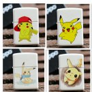 Creative Picacho cartoon kerosene super slim lighter Retro pocket lighter BC2045