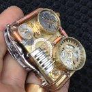 wholesale copper steampunk handmade welding technology watch lighter  lighter gold liner BC2073