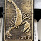 wholesale Men brand Lighter balck Matte paint Chapter paste Scorpion BC2075