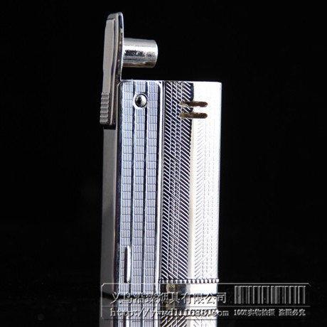 Vintage old kerosene oil lighter,Retro classical metal case waterproof cigarette lighter, heavy