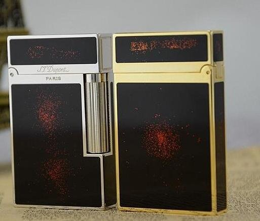 2016  style lighter S.TDupont S.T Memorial Bright Sound!  In Box Serial number C118 BC2289