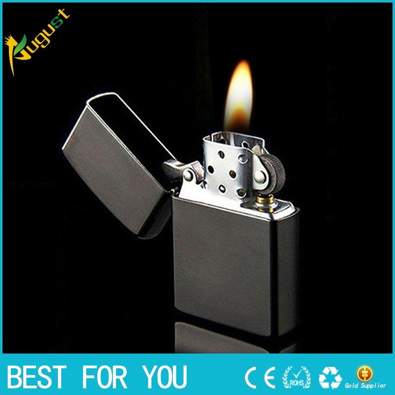 50PCS/LOT Hot sale kerosene austria oil lighter vintage refillable cigarette lighter tobacco  a