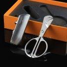 COHIBA Gadget Metal Triple Flame Windproof Butane Gas Refillable Lighter Pocket Metal Cigar Sci