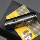 COHIBA Black 4 Red Torch Jet Fire Windproof Cigar Lighter Classic Cuban Refillable Cigarette Fl