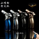 JOBON Gas refillable torch lighters ZB659 windproof Smoking cigarette Boutique personality Port