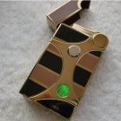 Metal electronic induction windproof lighter smoking gas lighter with light BC2496