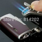 Metal Double Nozzle Torch Windproof Butane Lighter Jet Flame Smoking Cigarette Cigar Lighter BC2693