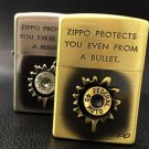 HYB brand zpo Genuine 3D Lighter  Patch bullet  copper gold silver  BC2726