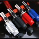 5pcs/lot good quality  Lighters with box four straight jet torch lighter as christmas gift wind