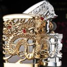 5 color Heavy armor Relief Gold-gold dragon Lighter   BC3016