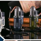 mini transparent Windproof Butane lighters tobacco smoking pipe NO Gas Jet Flame Refillable Cig