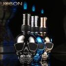 Jack-o '-lantern wheel lighters consigned creative skulls cigarette lighter blue flame wave