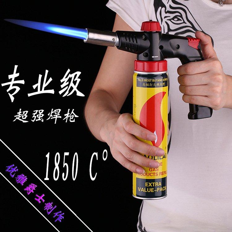 Wind Proof Moisture Proof Waterproof Fully Automatic Electronic Flame Gun Lighter Butane Burne