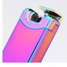 10pcs/lot windproof arc smoking lighter encendedor wholesale lighter portable bar electronic ci