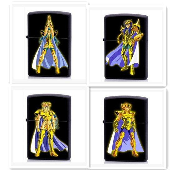Saint Seiya gold twelve constellations cartoon personality and creativity super thin windproof