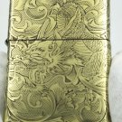 armor version zpo lighter Genuine kerosene pure copper four sides gold Dragon lighter with box