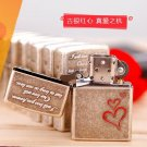 windproof lighter The ancient vermillion heart  BC3655