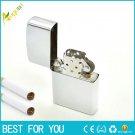 100PCS/LOT Oil  Lighter Fashion Windproof Metal Oil Cigarette lighter Smoking Fuel Lighters Oil