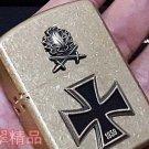 5.8*4.2*1.5 cm 912 Thicker Shield A Battle Knight Cross Knight lighter Pure copper waterproof
