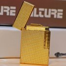 new  Old style  wheel gas lighter gold silver 4 color  BC3710