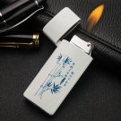 Butane gas windproof lighter gadgets for men 4 style select plasma lighter isqueiro with pakea