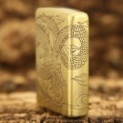 windproof lighter Pure copper winding dragon Dragon tribe The cloud dragon  BC3893