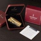 12pcs/lot  Butane windproof lighter gas isqueiro with pakeage box gadgets for men 4 color selec
