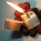 3*3.8*1.2cm 65g Overall 999 sterling silver lighters pure hand-madepure silver kerosene lighte