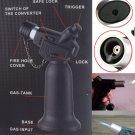 1PC Lockable Dual-use Butane Gas Jet Flame Torch Lighter Soldering Gun Lighter BC3972