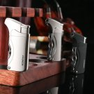 10pcs/lot 2016 cool smoking plasma lighter for men windproof butane gas Lighters Swiss army kni