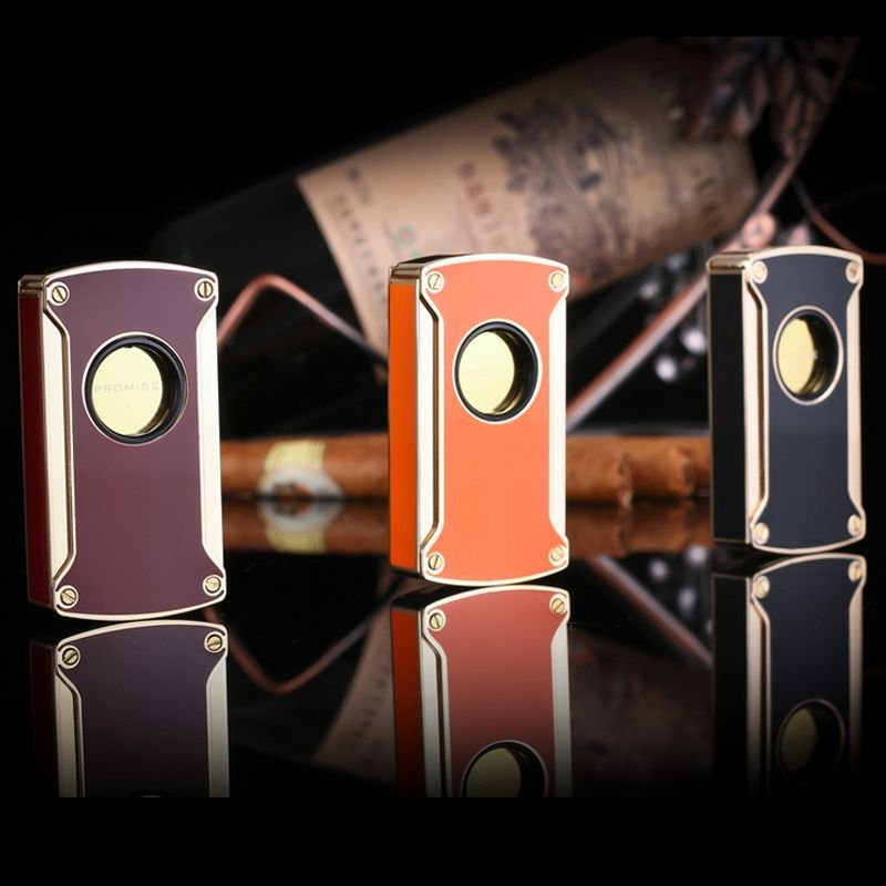 Electronic touch induction lighters windproof gas inflatable cigarette lighter have 5 Colors BC4055