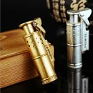 Honest retro pure copper coal oil cigar lighters creative Windproof lighter have Gold & Sil